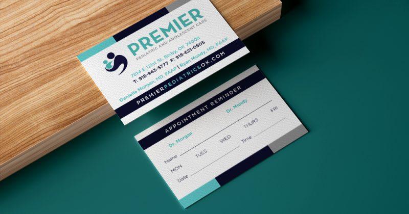 Premier Pediatrics Appointment Cards