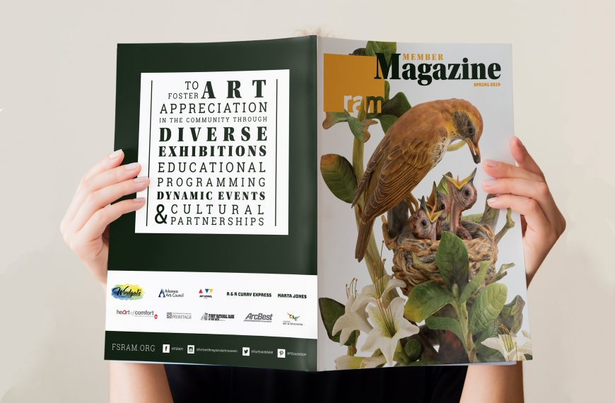 Fort Smith Regional Art Museum Member Magazine