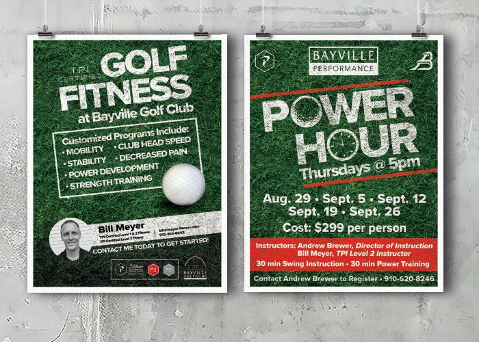 Bayville Golf Club Poster Series